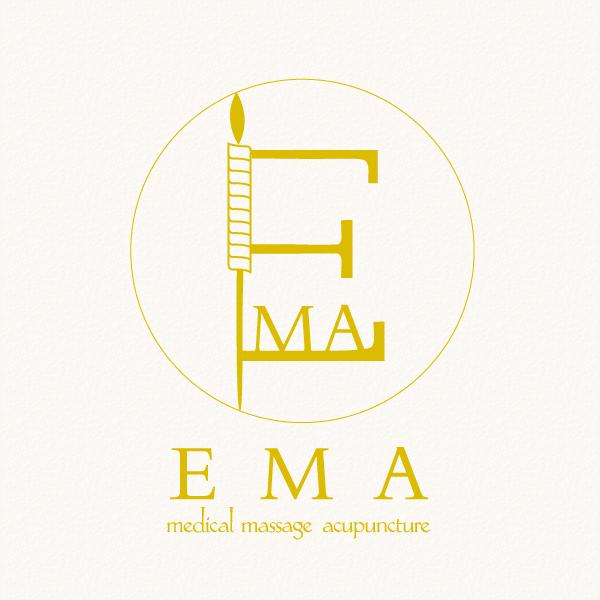 Ema鍼灸マッサージ治療院様 ロゴ制作